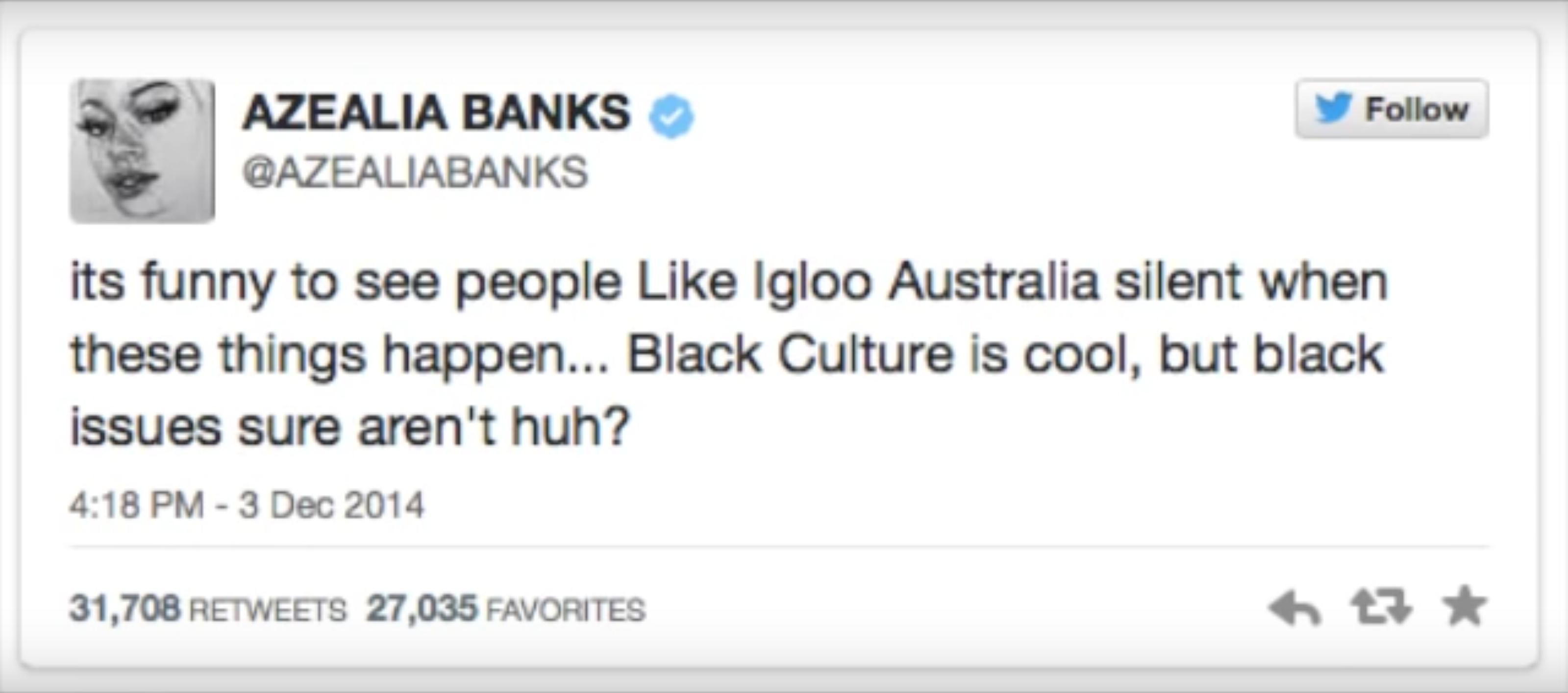azealia banks appropriation culturelle Iggy Azalea rap black culture noire